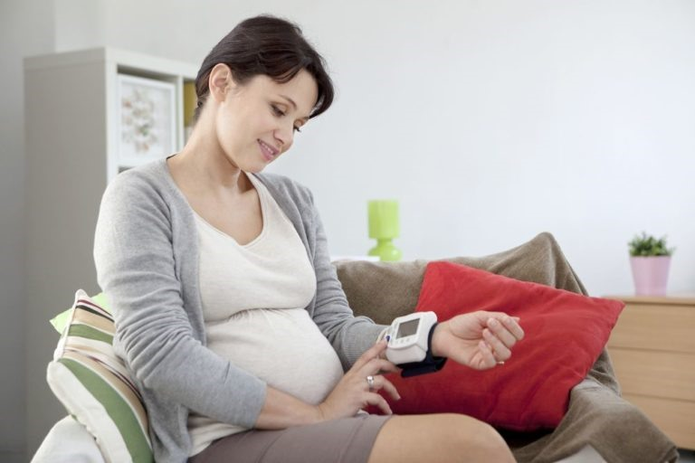 Измерение давления при беременности