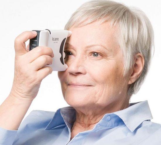 Определение офтальмотонуса